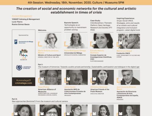 Creación de redes de apoyo al ámbito cultural